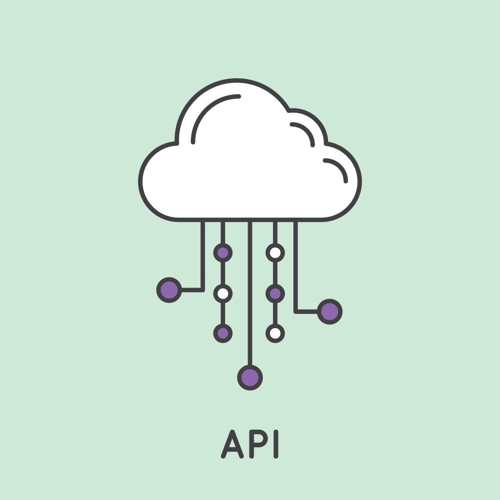 Simple,Vector,Icon,Style,Illustration,Of,Application,Programming,Interface,Api