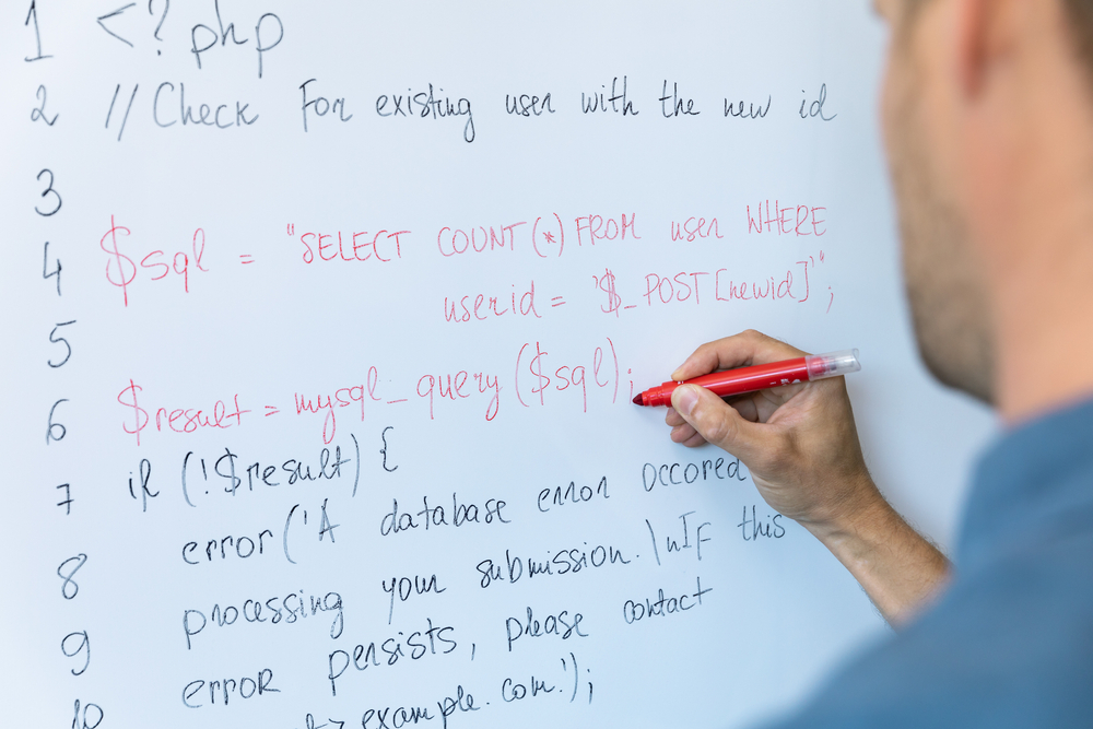 whiteboard coding